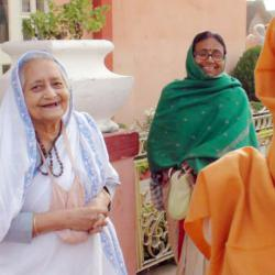 Subhag Swami Maharaj with His Mother
