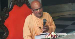 Subhag Swami - 2010 Abhishek of Krsna Balaram in USA