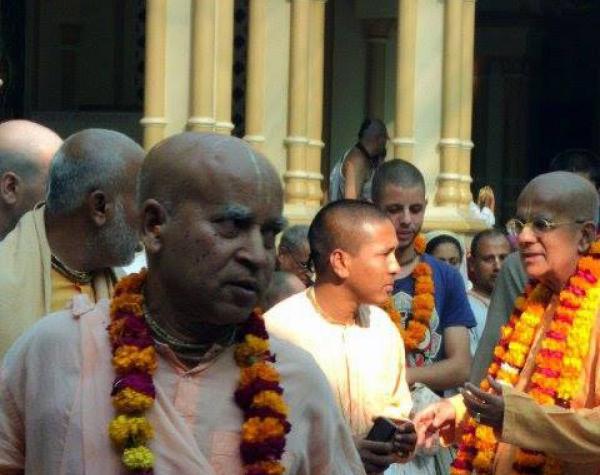 Subhag Swami Maharaj, Gaurangga Mahaprabhu's sankirtan movement