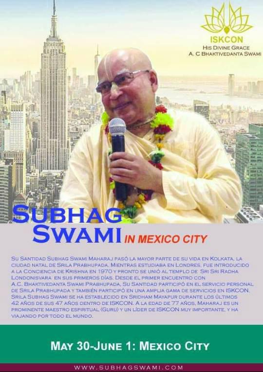 Subhag Swami - Mexico City
