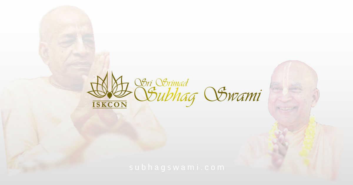 Sri Srimad Subhag Swami