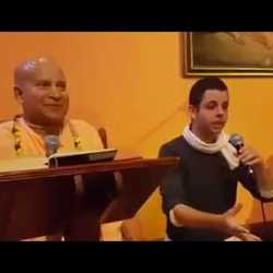 Subhag Swami - Lecture in ISKCON Temple Barcelona, Spain, 2017