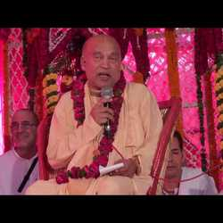Subhag Swami - Interview with HH Subhag Swami Maharaj July 2017, Mayapur
