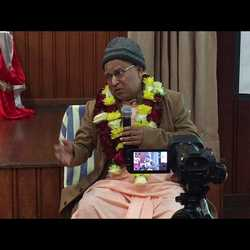 Subhag Swami - Come to Dham for Spiritual Advancement in Madhuvan, Vrindavan 2014