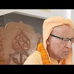Subhag Swami - Krishna krishna raksha mam, Chintaharan Ghat, Vrindavan