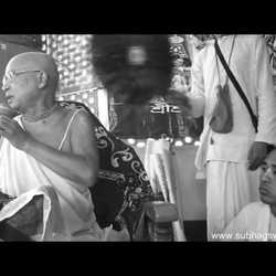 Subhag Swami - Follow Guru's Instructions, Madhuvan, Vrindavan, 2014