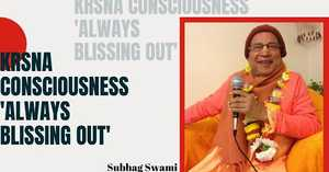 Krsna Consciousness -'Always blissing out'!, Austria.