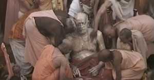 Guru Maharaj during 1996 Centennial Year Mayapur Grand Opening