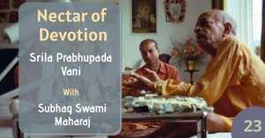 Nectar of Devotion Class 23