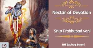 Nectar Of Devotion Class 19