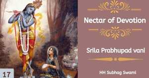 Nectar of Devotion Class 17