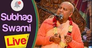 HH Subhag Swami Maharaj evening lecture 20.02.2020 Mayapur