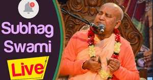 HH Subhag Swami Maharaj morning lecture 26.02.2020 Surbhi kunj
