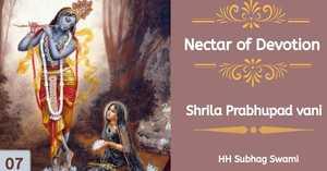 Nectar of Devotion Class 7