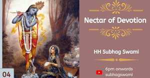 Nectar of Devotion Class 4