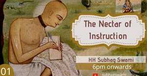 Nectar of Instruction Class 1