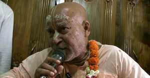 Subhag Swami - Krsnera Smaran at Jagannath Vallabh Temple Netrakona