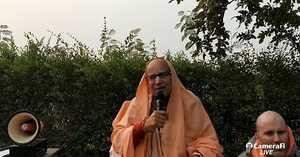 HH Subhag Swami Maharaj's morning lecture at Vrinda kund 15.11.2019
