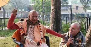 HH Subhag Swami Maharaj's morning lecture 11.11.2019 Vrindavan