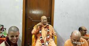 Subhag Swami's evening lecture vrindavan 9.11.2019