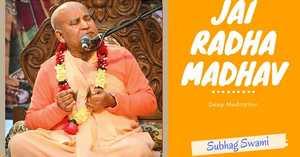 Jay Radha Madhava Kirtan