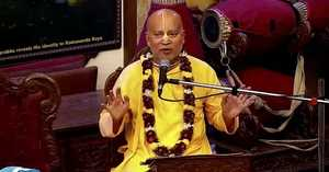 HH Subhag Swami Maharaj evening lecture on 22.02.2020 Mayapur