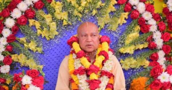 Subhag Swami - addressing devotees, 31/01/2019, Netrakona (Bangladesh)
