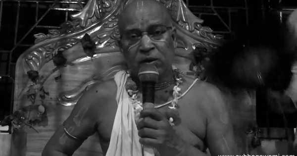 Subhag Swami - Mukta charit 'The pearl story' in Mayapur, 25 February 2018