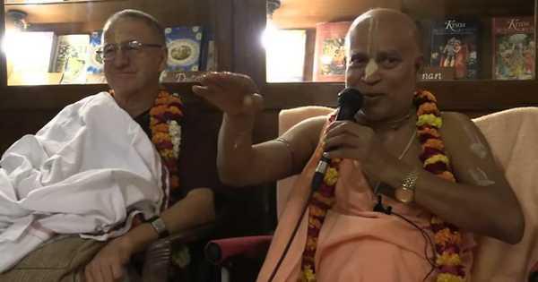 """Subhag Swami - """"Adarsh Grhastha Jivan"""" S.B. 9.6.55 (Bengali), Mayapur"""