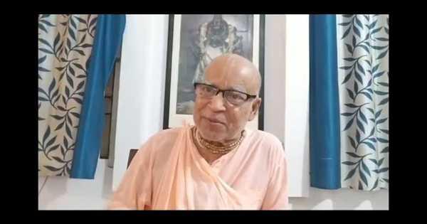 """""""মধুর হরিনাম : ভজনের রহস্য।"""" 11 September 2020 Mayapur"""