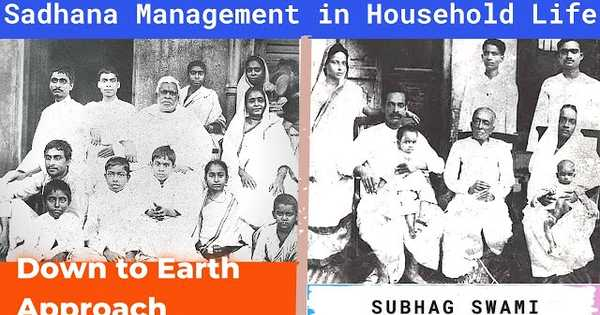 Sadhana Management in Household Life - Down to Earth Approach