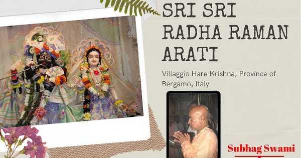 Sri Sri Radha Raman Arati