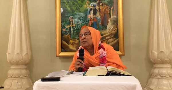 Subhag Swami - Morning Class Srimad Bhagavatam 4.22.18 - 2 May 2019