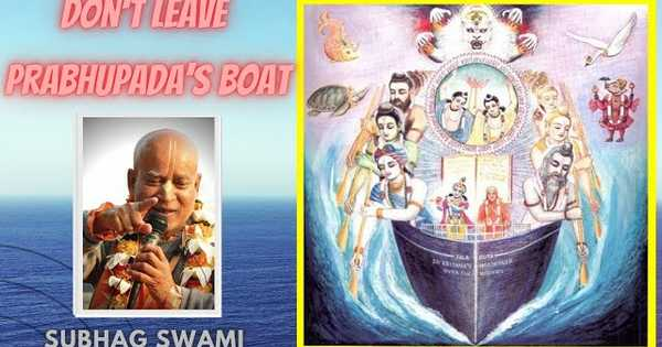 Don't Leave Prabhupada's Boat