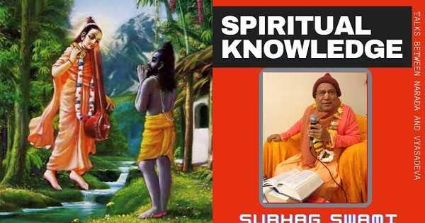 """Spiritual knowledge"" ZOOM CLASS Bhagavatam sloka 1.5.23"