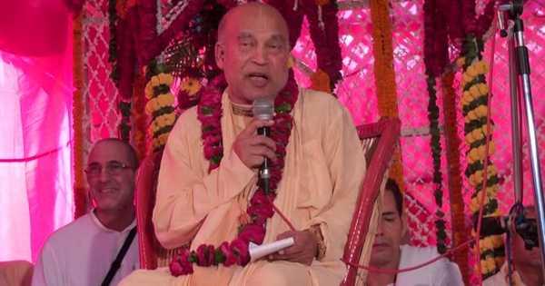 Subhag Swami - Interview with HH Subhag Swami Maharaj July 2017, Mayapur