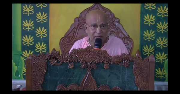 Subhag Swami - Srimad Bhagavatam 8.20.5-6 Lectures Mayapur 18 June 18