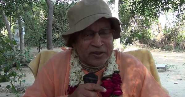 Subhag Swami - Krishna Prasad is Transcendental in Madhuvan, Vrindavan