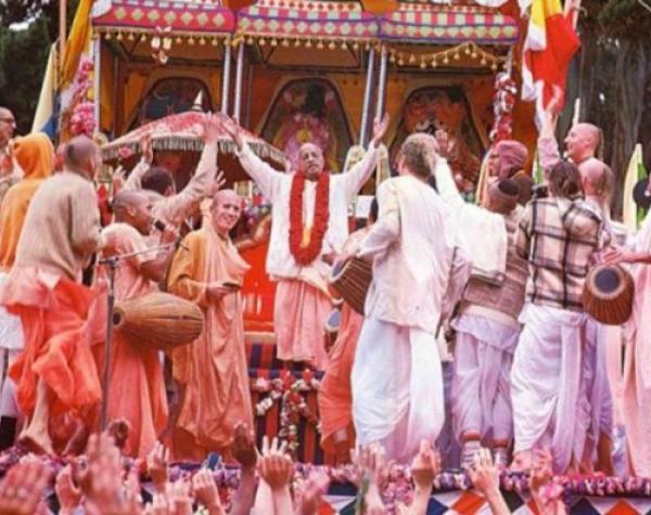 First Jagannath Ratha Yatra - with Srila Prabhupada
