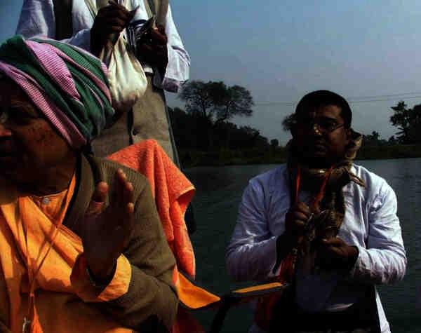 Subhag Swami Maharaj in Bagnan