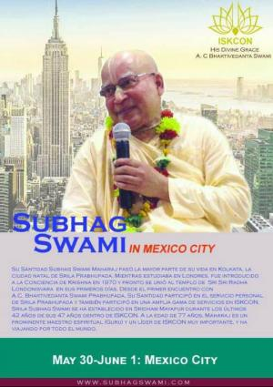 Subhag Swami - Mexico City